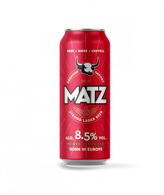 Matz Strong 50cl 8.5% Can