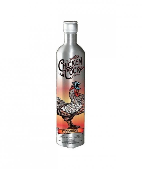 Chicken Cock Cinnamon Whiskey 75cl