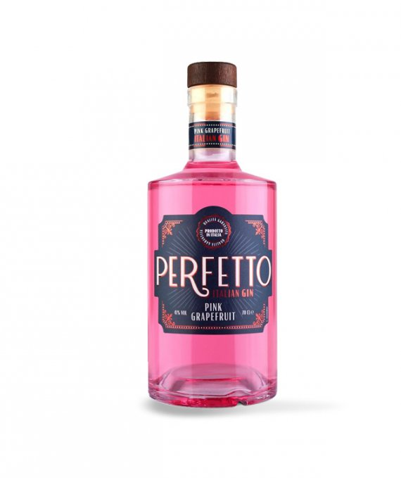 Perfetto Italian Gin Pink Grapefruit 70cl