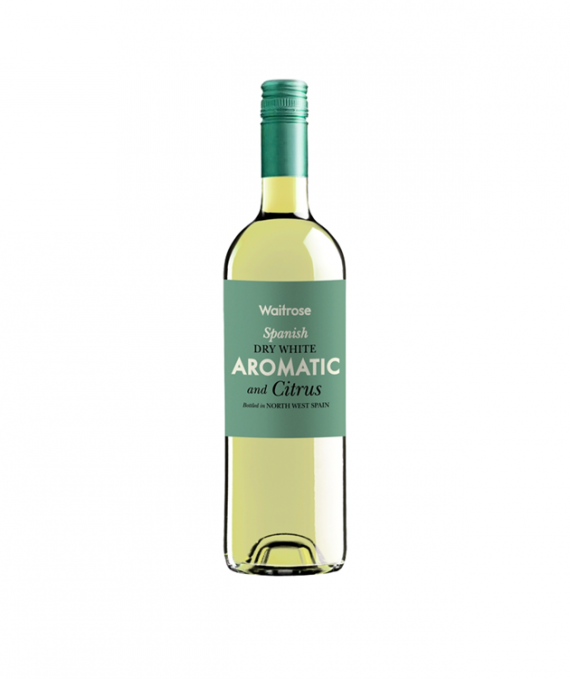 Waitrose Aromatic & Citrus Spanish White 75cl