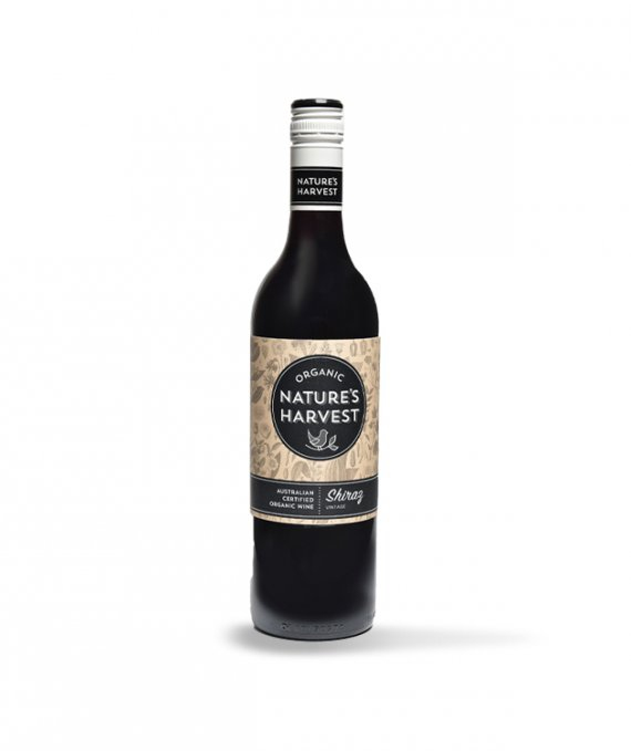 Natures Harvest Organic Shiraz 75cl
