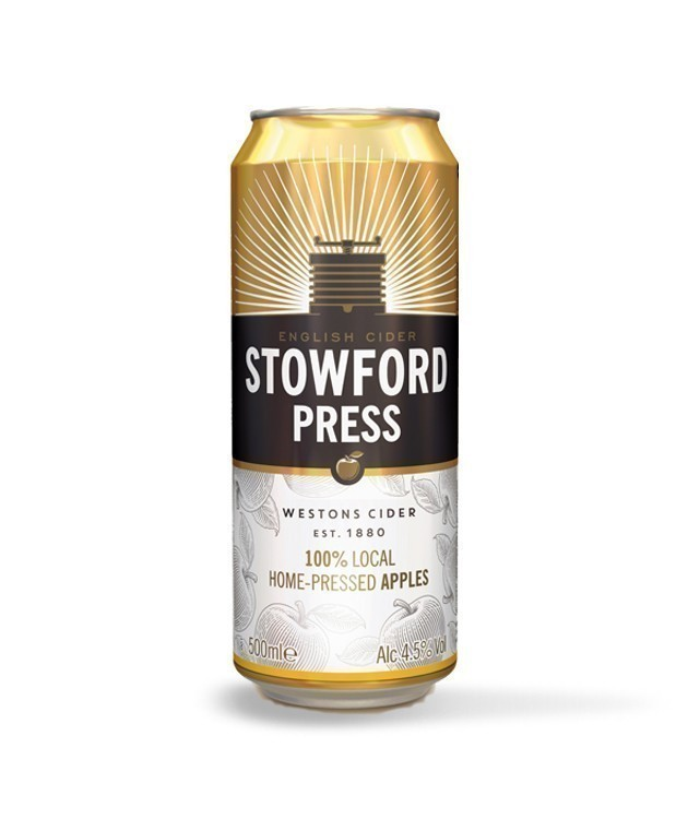 Stowford Press Cider 50cl Can