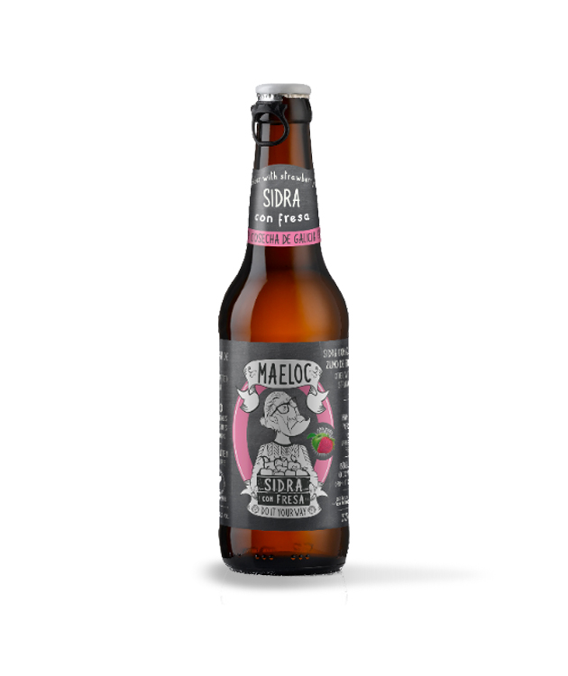 Maeloc Strawberry Cider 33cl Btl