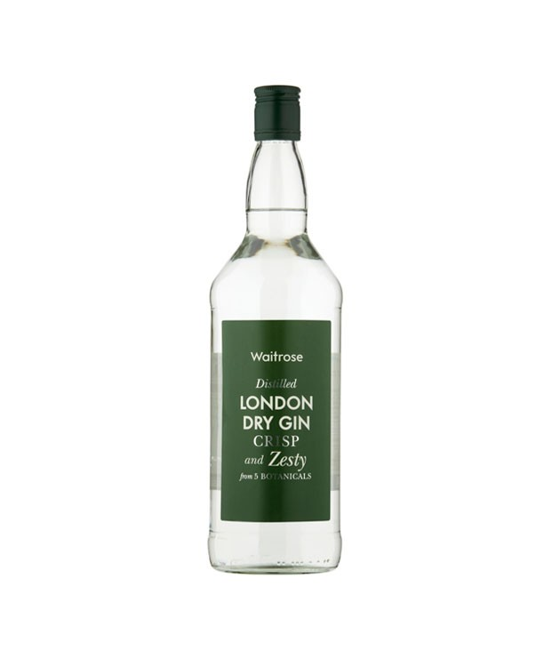 Waitrose London Dry Gin 1 Ltr