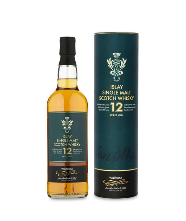 Waitrose 12y.O. Islay Single Malt Scotch 70cl