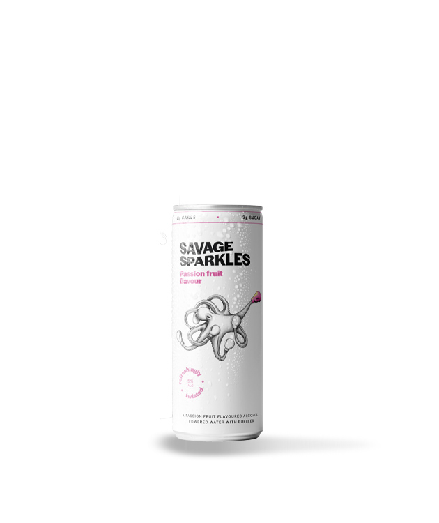 Savage Sparkles Passionfruit 30cl Can