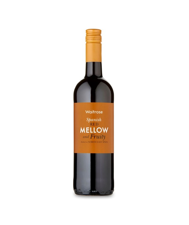 Waitrose Mellow & Fruity Spanish Red 75cl