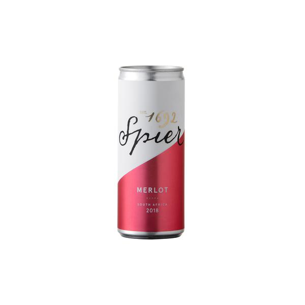 Spier Merlot 25cl Can